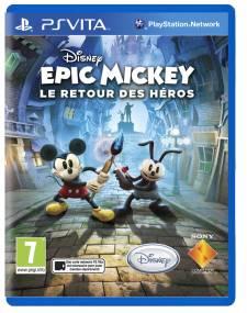 Disney Epic Mickey 2 Le Retour des Héros jaquette covers fr 18.03.2013.